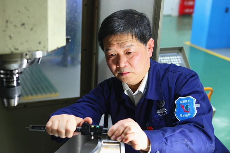 """陕西航天时代导航设备有限公司刘湘宾:""""我喜欢挑战困难战胜困难"""""""