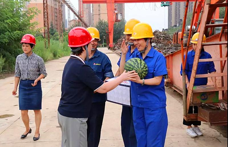 高温 | 陕西省机械冶金建材工会慰问