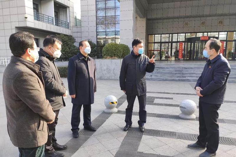 陕西省总工会主席郭大为在疫情防控