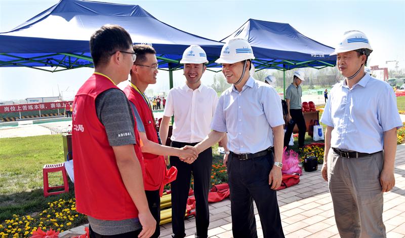 中交二公局举行2020年工程测量工职业技能竞赛