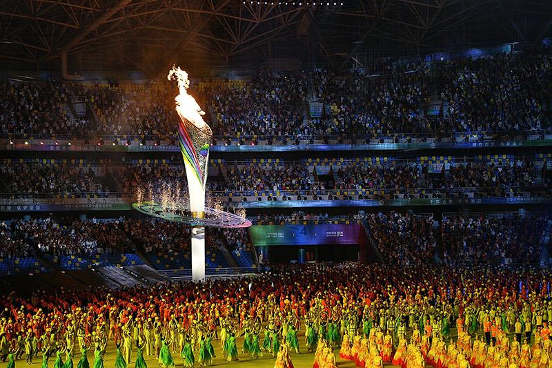 第十四届全运会开幕式在西安举行...